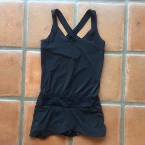 Lululemon black tennis dress like 6